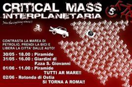 Masse critique interplanétaire à Rome