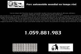 Le premier milliard de voitures