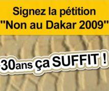 petition-dakar-2009