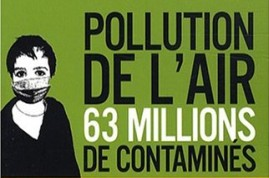 Pollution de l'air : 63 millions de contaminés